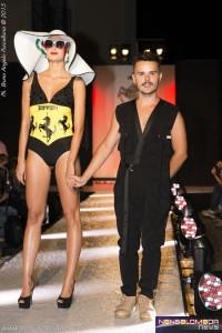 Rocco Fusillo con una delle modelle Globalmodels&models Agency ROMA