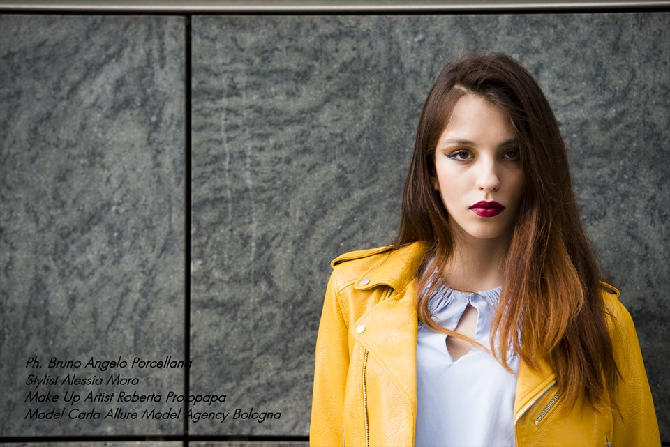 Ph. Bruno Angelo Porcellana Stylist Alessia Moro MUA Roberta Protopapa Model Carla Allure Model Agency Bologna