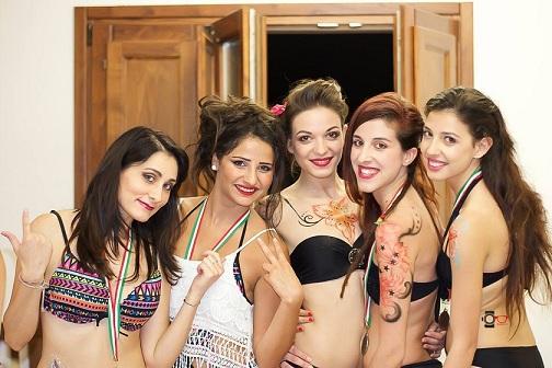 ragazze del concorso