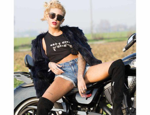 Nonsolomodanews - Giada Longo - The biker