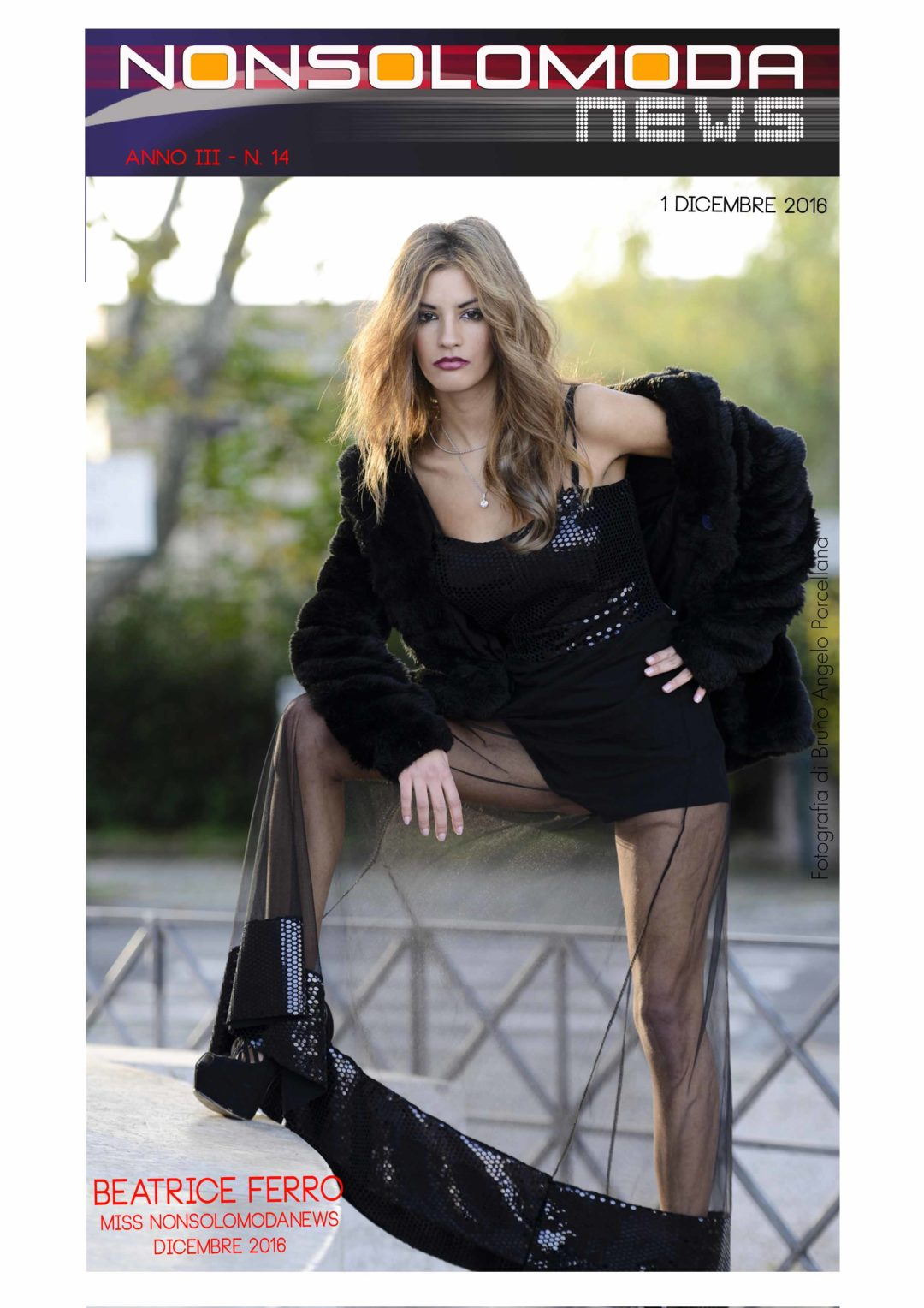Beatrice Ferro, Miss Nonsolomodanews Dicembre 2016