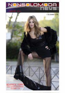 Beatrice Ferro Miss Nonsolomodanews di Dicembre 2016