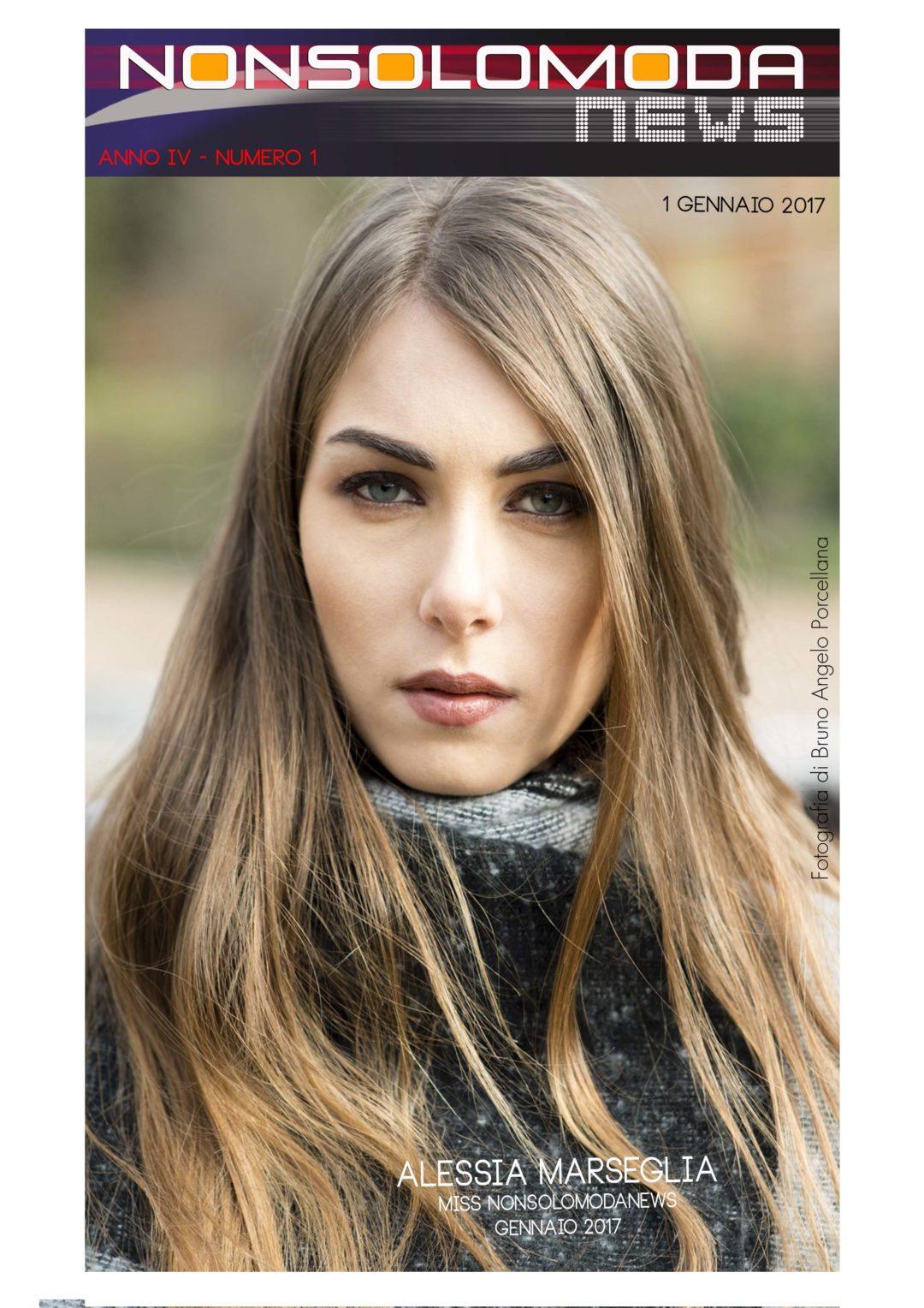 Alessia Marseglia - Miss Nonsolomodanews Gennaio 2017