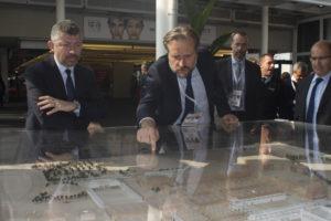 Sottosegretario Scalfarotto con Direttore Generale BolognaFiere Bruzzone