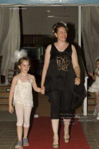 Giada Marinelli e figlia