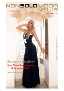 Samantha Cavalieri Miss Nonsolomodanews Ottobre 2017