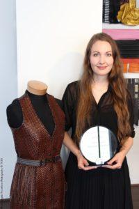 Alexandra Kustvall Larsson (premiazione)