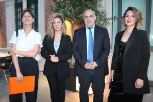 Anna Kekelia, Tamara Tandashvili, George Chogovadze e Ana Labadze