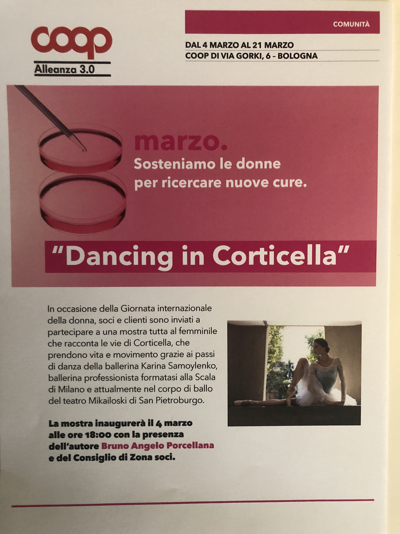 Dancing in Corticella